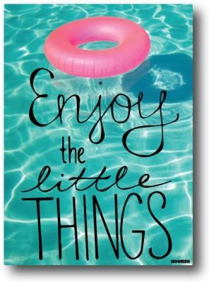 Nourish Enjoy the Little Things Fridge Magnet Pack of 1