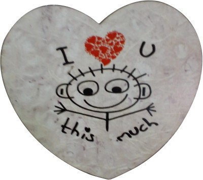 Fabionic Love You This Much Fridge Magnet Pack of 1