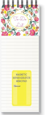 Nourish Floral To Do List Magnetic Note Pads Pack of 1