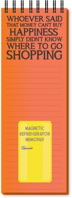Nourish Shopping Magnetic Note Pads Pack of 1