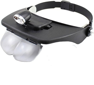 2d48bfcbcb 10% OFF on Millennium Headband LED Head Light Magnifying Glass Loupe 4x  Lens 1.2X