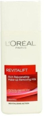 L'Oreal Paris Revitalift Cleansing Milk Makeup Remover, 199 ML