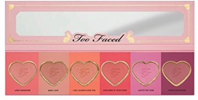 Too Faced Faced Love Flush Blush Wardrobe