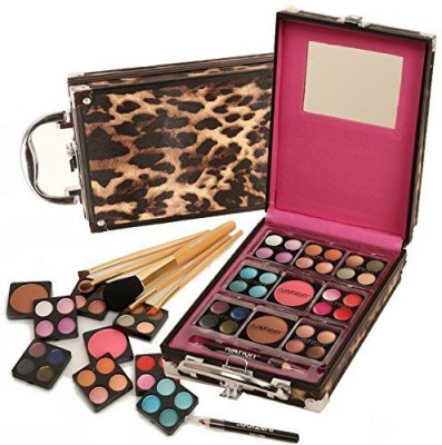 Ivation Makeup Kit - 36 Pc Set Including Eyeshadow, Blusher, Lip Gloss and Brush Set  available at flipkart for Rs.5162