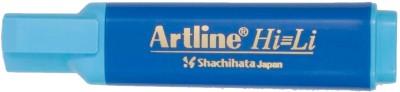 Artline 3 Line Tip Xylene Free highlighter(Set of 10, Blue)  available at flipkart for Rs.200