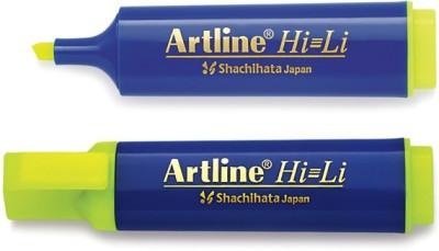 Artline 3 Line Tip Xylene Free highlighter(Set of 10, Yellow)  available at flipkart for Rs.180