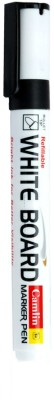 Camlin Bullet Tip Non Permanent whiteboard Markers(Set of 10, Black)  available at flipkart for Rs.209