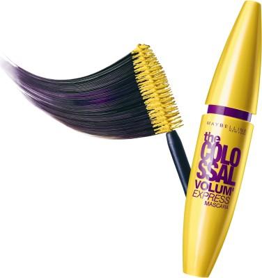 Maybelline Volum Express Colossal mascara 10.7 ml(GLAM BLACK) at flipkart