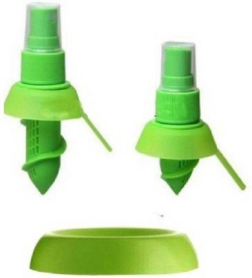 UMATH Citrus Spray Lemon Juice Sprayer Hand Juicer Plastic Masher(Yellow, Green, Blue, Pink, Orange) at flipkart
