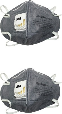 Arex Dust Protection Anti Pollution Mask (Pack of 2)