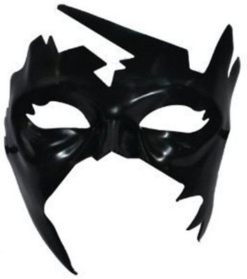 Shrih Superhero Krrish Face Mask Party Mask(Black, Pack of 1)  available at flipkart for Rs.1149