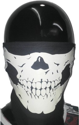 Upbeat Skull Anti-pollution Mask(Black, Pack of 1) at flipkart