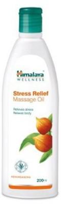 Himalaya wellness Stress Relief Massage Oil, 200 ML