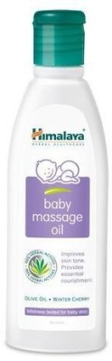 Himalaya Herbal Baby Massage Oil Bottle, 50 ml