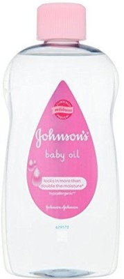 Johnson's Baby Oil Hypoallergenic(499 ml)