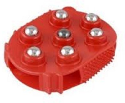Connectwide 63 Silicon Roller Red Massager(Red)
