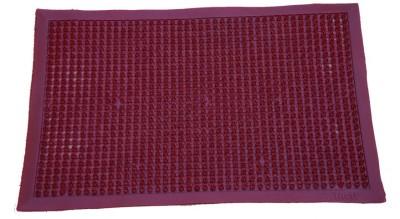 Muren PVC Door Mat(Red, Small) at flipkart
