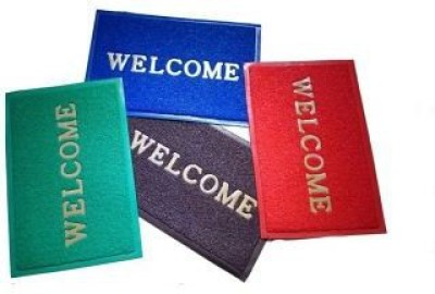 Swastik Traders PVC (Polyvinyl Chloride) Door Mat(Multicolor, Medium) at flipkart