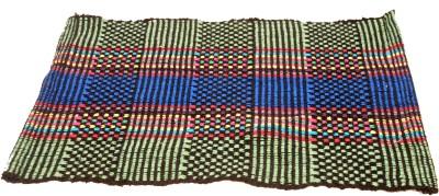 Sri Datta Cotton Floor Mat Cotton Mat(Multicolor, Large)