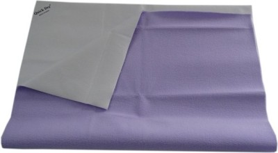 Quick Dry Cotton Baby Bed Protecting Mat Mat(Purple, Large)