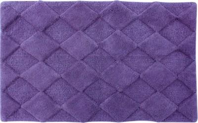 Azaani Cotton Bath Mat Diamond Purple Bathmat(Purple, Extra Large) at flipkart