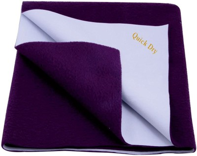 Quick Dry Cotton Baby Bed Protecting Mat(Plum, Extra Large) at flipkart