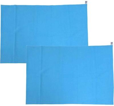 Meemee Rubber Sleeping Mat Total Dry & Breathable Mattress Protector(Blue, Small) at flipkart