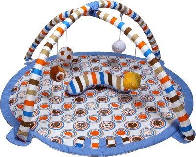 Bacati Cotton Baby Play Mat(Multicolor, Large) at flipkart