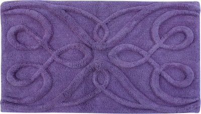 Azaani Cotton Bathroom Mat(Purple, Extra Large) at flipkart