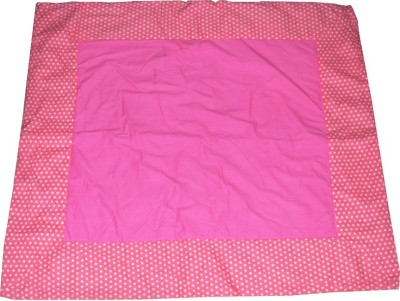 Creative Textiles Cotton Play Mat Quilted Mat(Pink, Large)