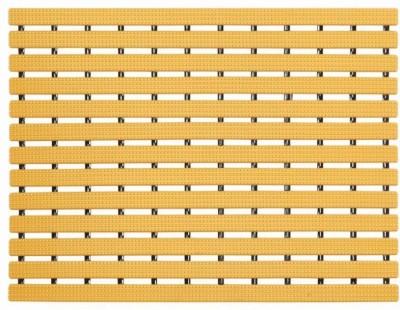 Naxan PVC Bath Mat PVC Dotted Shower mat(Yellow, Free) at flipkart