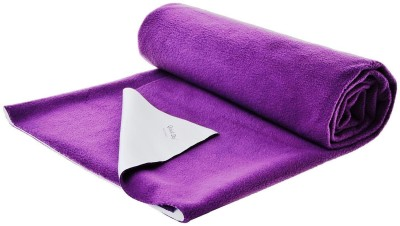 Quick Dry Cotton Baby Bed Protecting Mat Mat water proof sheet Heather Doble Bed(Purple, Extra Large) at flipkart