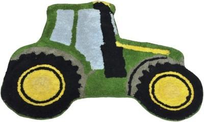 Avira Home Cotton Baby Play Mat(Multicolor, Medium)