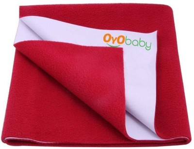 Oyo Baby Cotton Changing Mat Baby Care Sheet(Maroon, Small)