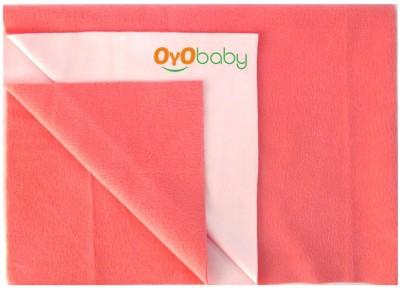 Oyo Baby Cotton Changing Mat Baby Care Sheet(Orange, Medium)