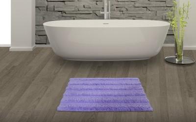 SPACES Cotton Bath Mat SPACES Swift Dry Lavender Cotton Bath Mat - Small(Lavender, Small) at flipkart