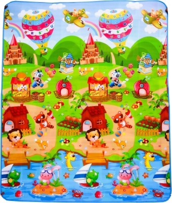 KGC Networks PVC (Polyvinyl Chloride) Baby Play Mat(Multicolor, Large) at flipkart
