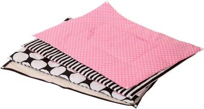 Bacati Cotton Sleeping Mat Dots(Multicolor, Small)