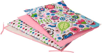 Bacati Cotton Sleeping Mat(Multicolor, Free)