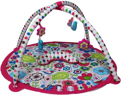Bacati Cotton Baby Play Mat(Multicolor, Free) at flipkart