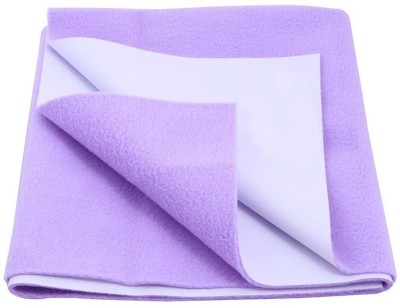 Rapid Dry Polyester Baby Bed Protecting Mat Mat Shree 2(Puple, Small)