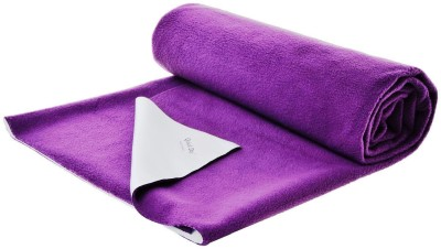 Quick Dry Cotton Baby Bed Protecting Mat(Purple, Extra Large) at flipkart