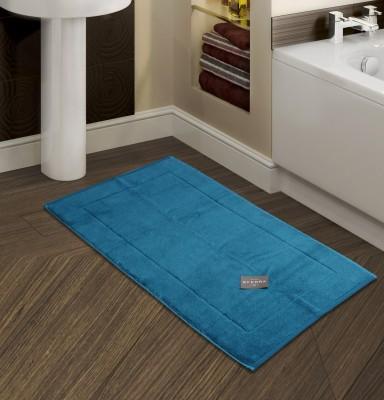 Sferra Cotton Bathroom Mat(Marine, Medium) at flipkart