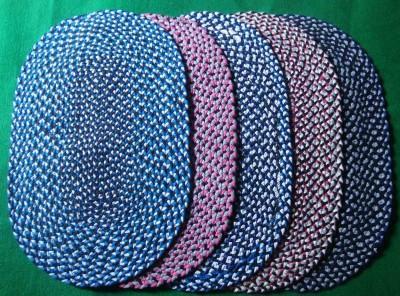 PM Decor Cotton Door Mat Shaggy mat bath & door mat COMBO 5 MAT(Multicolor, Small) at flipkart