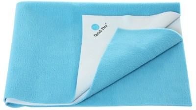 Quick Dry Jute Baby Bed Protecting Mat Mat(Light Blue)