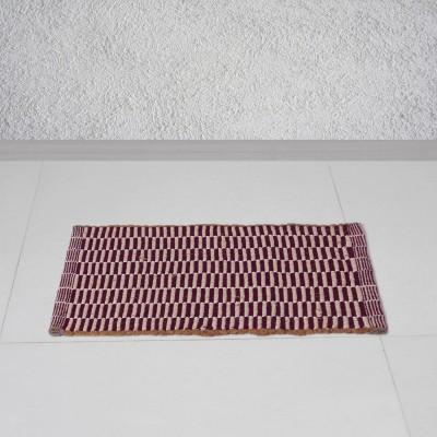 Story@Home Cotton Door Mat(Purple, Free) at flipkart