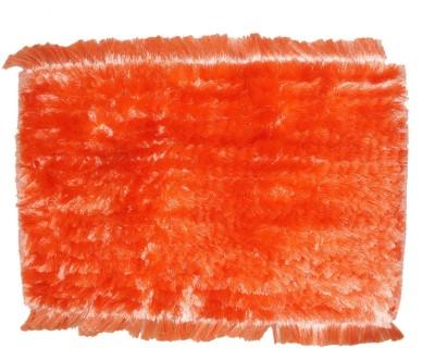 Muren Polyester Door Mat(Orange, Small) at flipkart