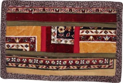 SKI Velvet Door Mat Carpet(Brown, Medium)