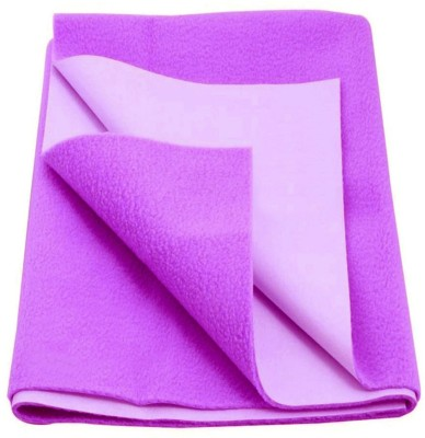 Babyrose Polyester Sleeping Mat Purple Plain Large(Purple, Large)