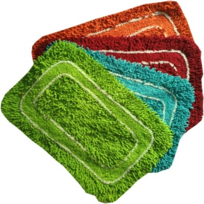 RS Quality Polyester Door Mat RS Quality Polyester(Multicolor, Medium) at flipkart